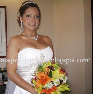 maquillaje sencillo para novia