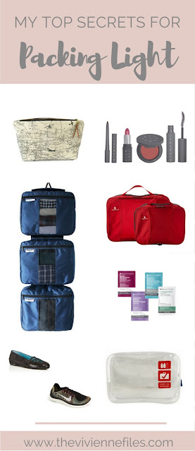How I Pack Light - My Secret Weapons in a Travel Capsule Wardrobe