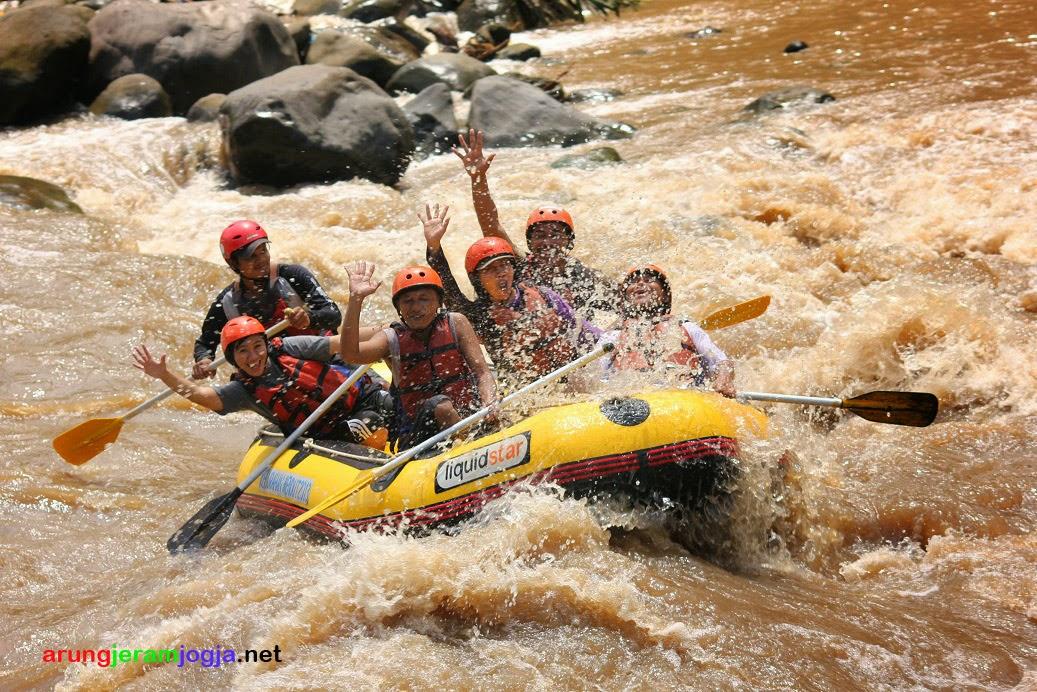 Arung Jeram Sungai Progo, Rafting Sungai Progo Murah