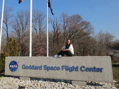 Heather at NASA Goddard