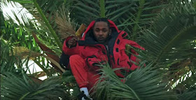 Kendrick Lamar Red Puffer Jacket