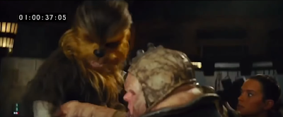 deleted scene chewbacca arm
