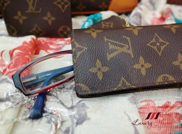 louis vuitton monogram canvas sunglass case