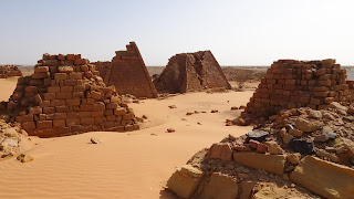 there are more pyramids in Sudan than Egypt