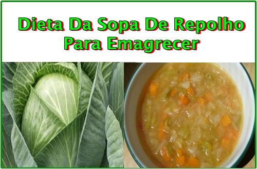 Dieta Da Sopa De Repolho Para Emagrecer Funciona!