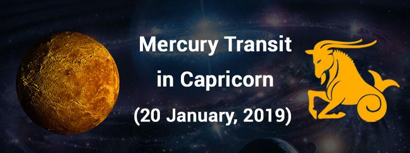 Mercury Transit in Capricorn Tomorrow, Read     - AstroSage Magazine