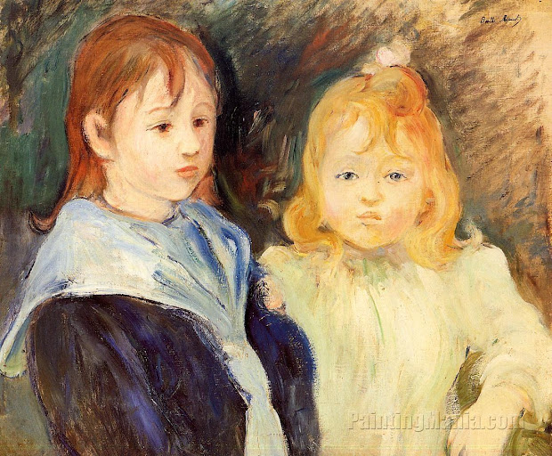 Berthe Morisot Painting Child