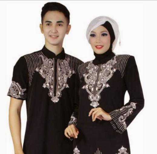 Model Batik Indonesia Gambar Model Baju Koko Muslim Setelan Atau Couple Terbaru