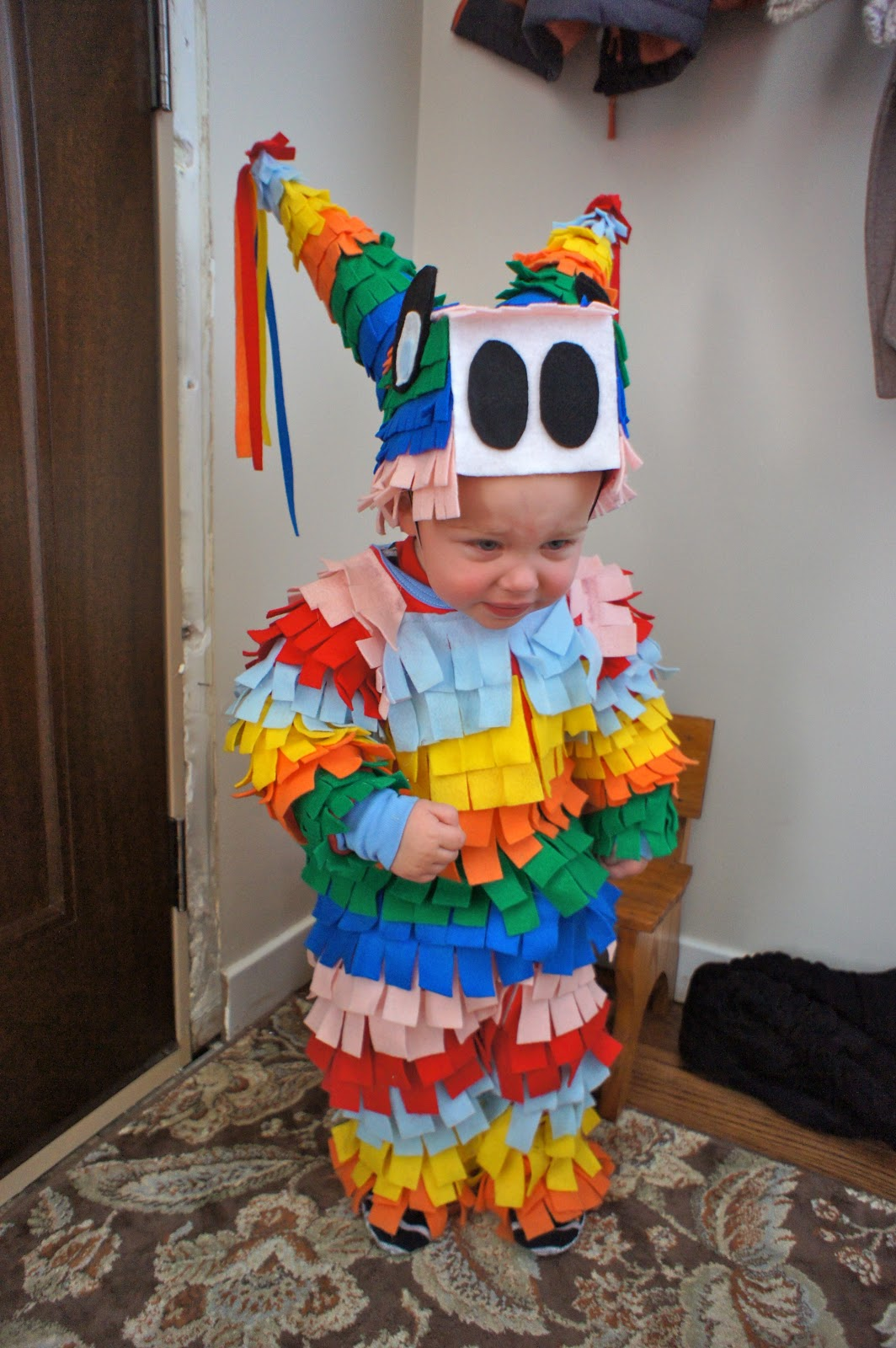 diy halloween costumes homemaker fall challenge pinata costume 30948
