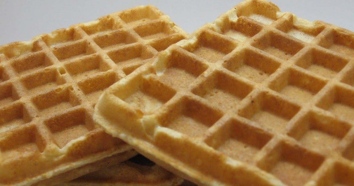 Good Old Fashioned Waffles