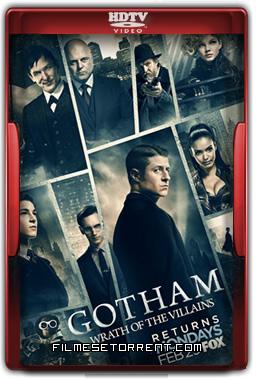 Gotham 2ª Temporada Torrent - HDTV 720p e 1080p Dublado