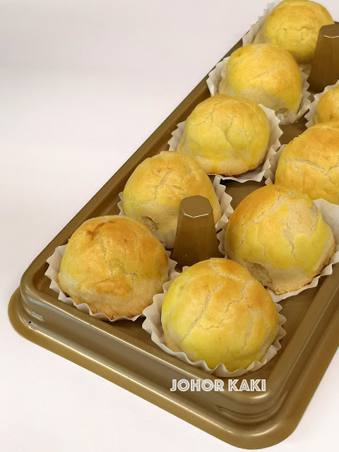 Le Cafe Iconic Beancurd Tart & Nostalgic Cakes from the 1960s 麗英豆花撻