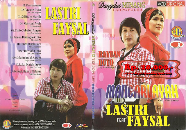 Lasrti Feat Faysal - Mancari Ayah (Album Dangdut Minang Terpopler)