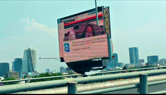 Fireman Tried To Turn Off A Hacked Billboard That Plays Adult Video, You Won't Believe What Happened Next