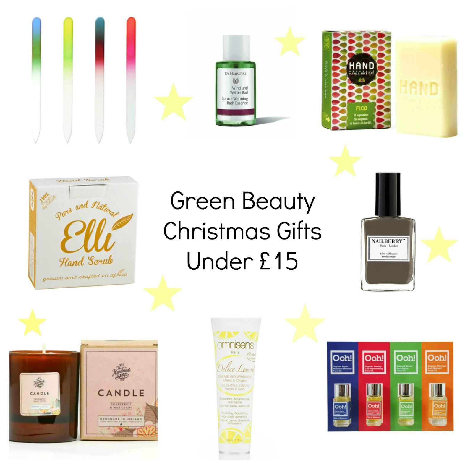 GREEN BEAUTY | CHRISTMAS GIFT GUIDE (UNDER £15)