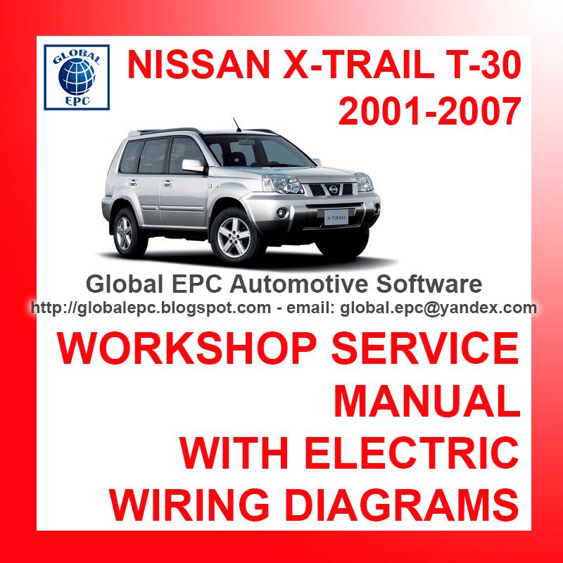 AUTOMOTIVE REPAIR MANUALS: NISSAN X-TRAIL T-30 2001-2007 ... on