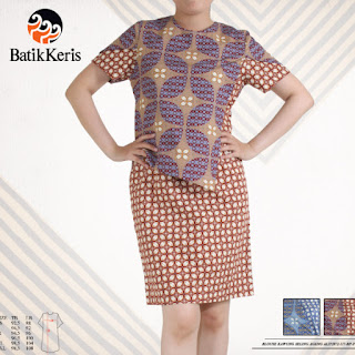 model sackdress batik