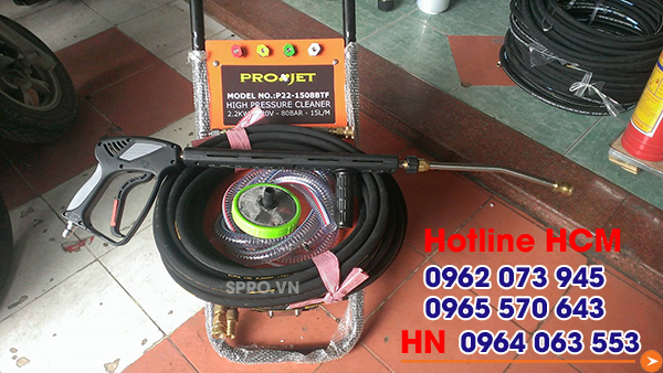 Chuyên cung cấp máy rửa xe Projet P22-1508btf uy tín