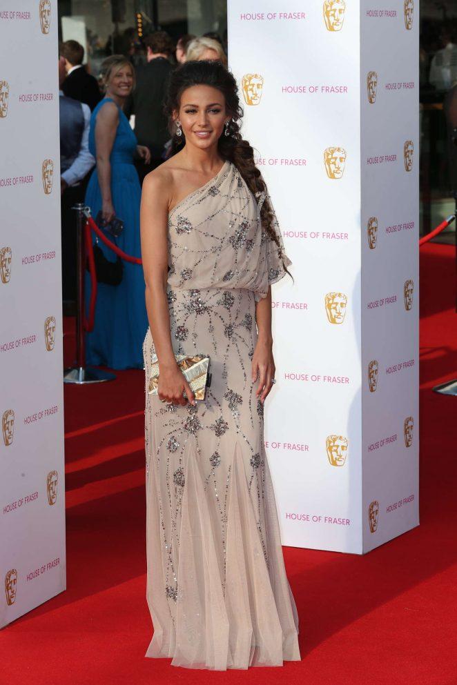 English Actress Michelle Keegan At BAFTA TV Awards