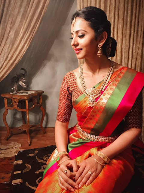 Rakul Preet Singh in R.S.Brothers Ad Photoshoot Latest Pics