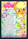 My Little Pony Applejack Series 1 Trading Card