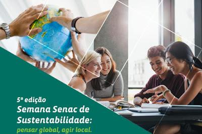 SEMANA SENAC DE SUSTENTABILIDADE EM REGISTRO-SP