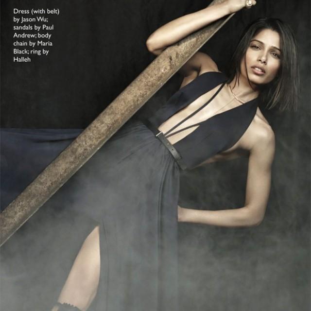 freida pinto photoshoot for edit magazine.   bollywood magazines , bollywood , freida pinto , insta bollywood , edit magazine ,