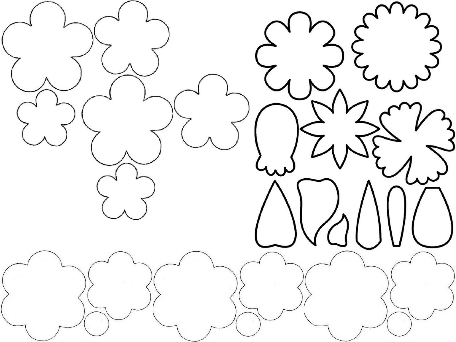 RobbyGurl's Creations: Foam Flower Hairbows