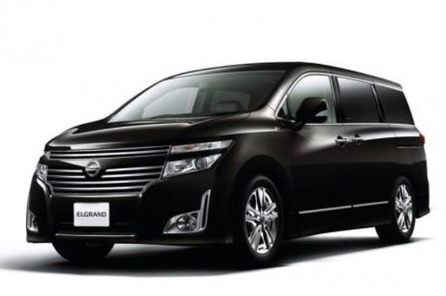 2013 Nissan Elgrand Equipped With New Safety Features