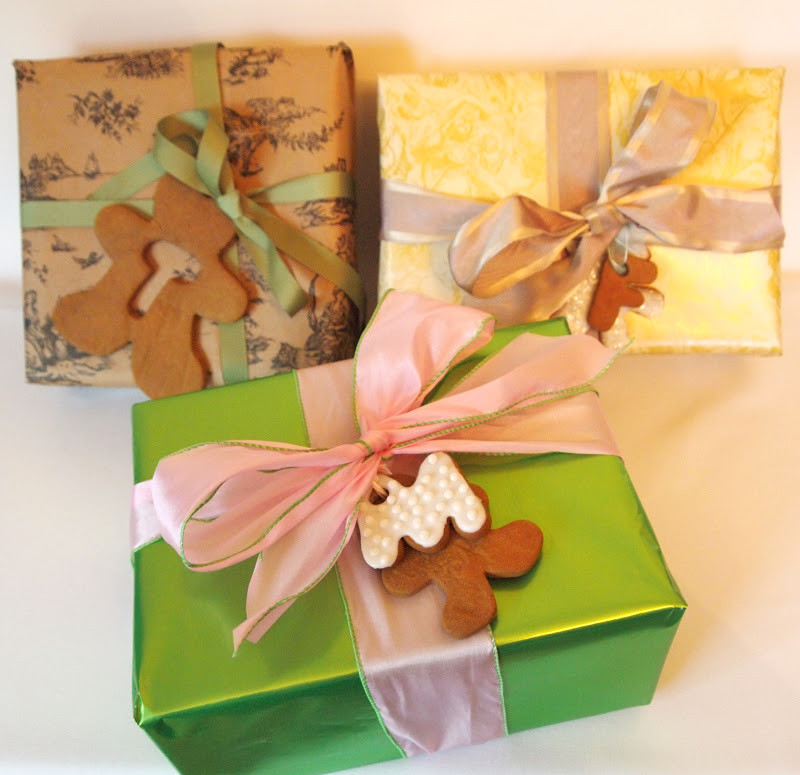 The Alchemist: Gingerbread Cookie Gift Tags