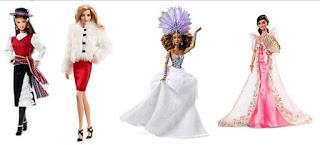 Coleção Barbie Cultura Mundial