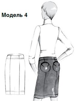 Выкройки юбок с эффектом пуш-ап