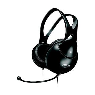Headset PHILIPS SHM-1900 | bali komputer - aksesoris komputer bali