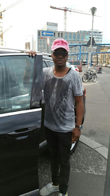 Meet Mims Rose: The Nigerian showbiz promoter that filmed President Buhari's last trip to Germany