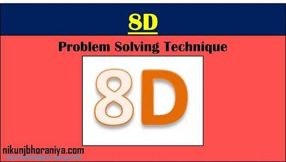 8D | Eight Disciplines of Problem Solving | 8D Problem Solving Method