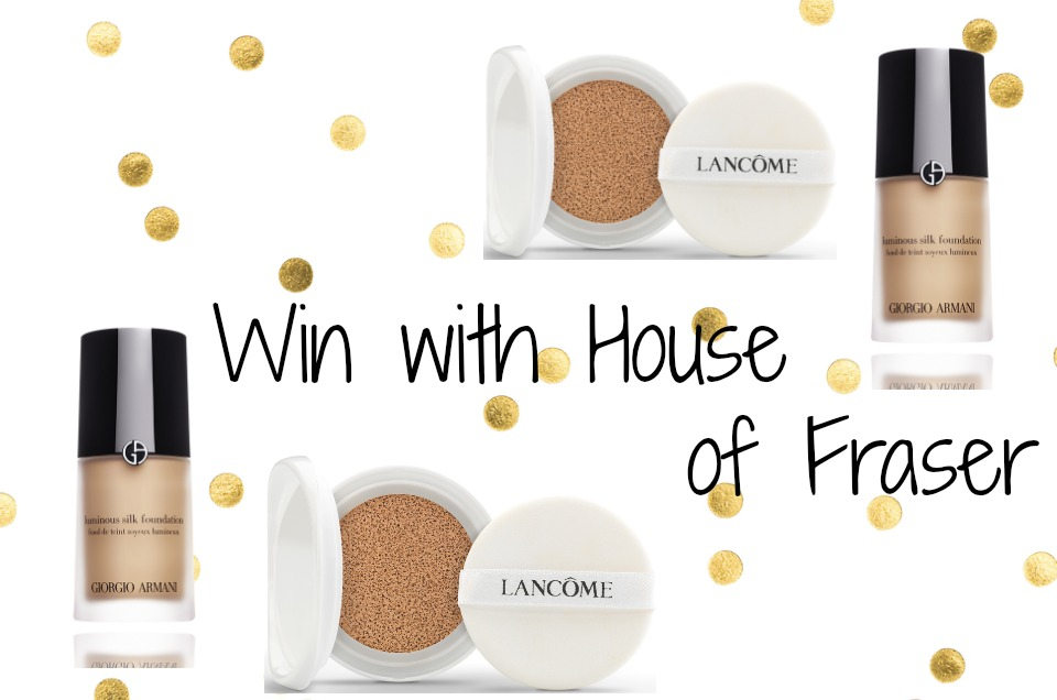an image of win with house of fraser