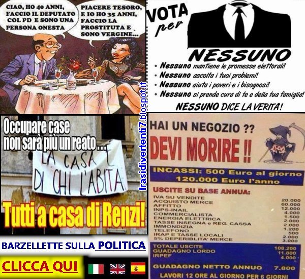 http://frasidivertenti7.blogspot.it/2014/11/politica-barzellette.html