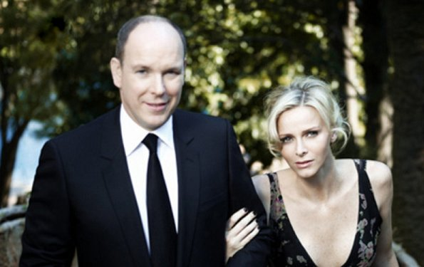 Prince Albert, Princess Charlene and Princess Caroline attended a celebration for the 50th anniversary of Monaco's Constitution