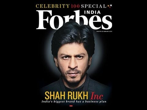 Shahrukh Khan Featured on Forbes Magazine Cover