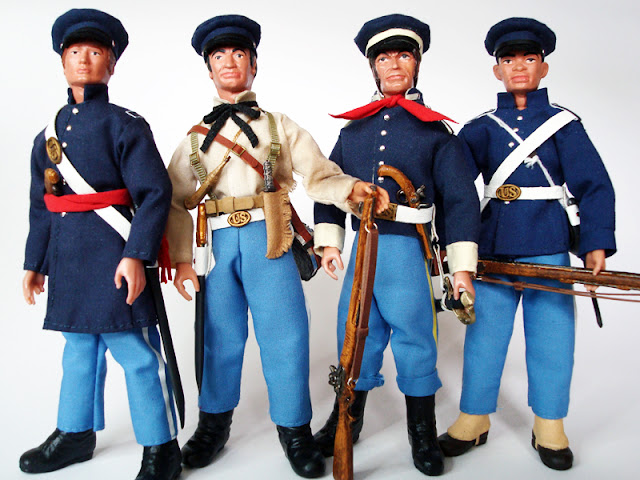 Madelman cuatro tipos de Texas Custom