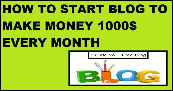 How do I Start a Blog and Make Money Online?
