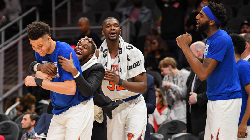 ¡Milagro en Atlanta! Los Knicks ganan 19 partidos después