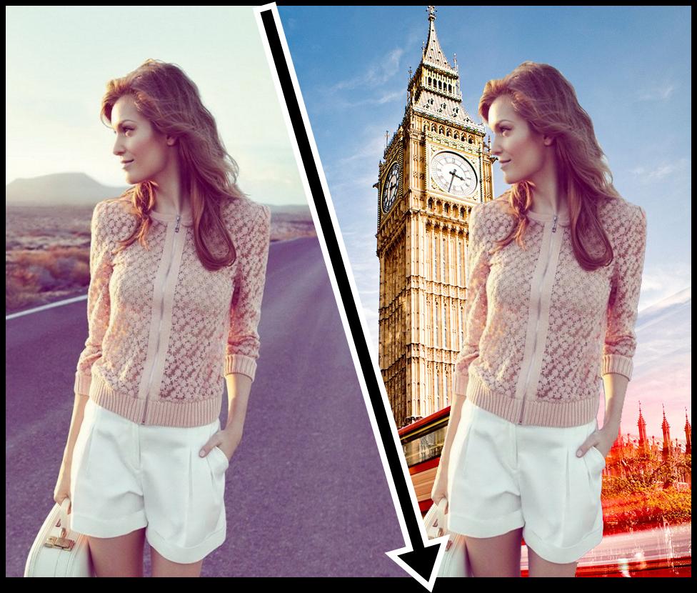 تطبيق اندرويد سهل لتغيير خلفية الصور