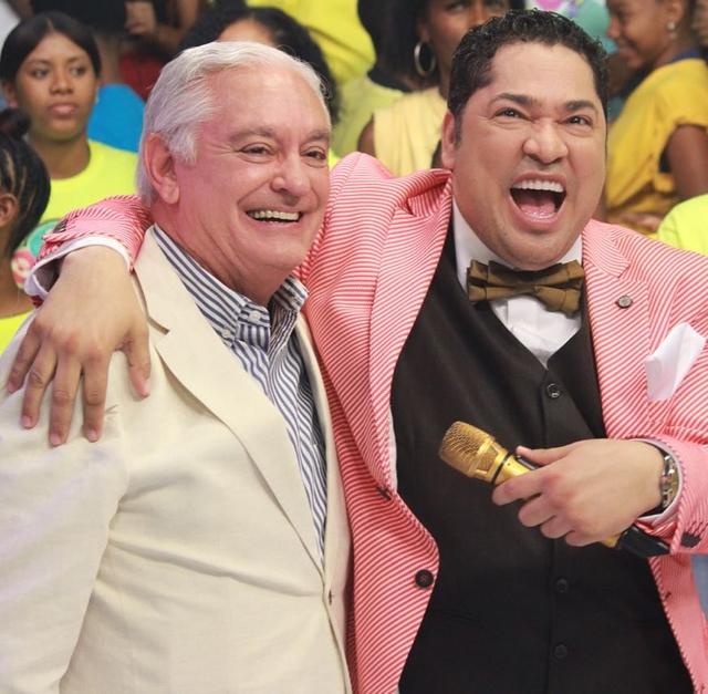 """El destacado humorista Cuquín Victoria junto a Frederick Martínez """"El Pachá"""""""