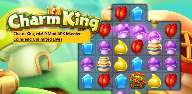 Charm King v4.6.0 Mod APK Massive Coins and Unlimited Lives