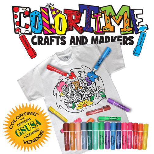 Colortime Crafts and Markers Giveaway Ends 5/23