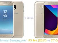 Samsung Galaxy J3 Pro (2017) vs J7 Core Harga dan Spesifikasi