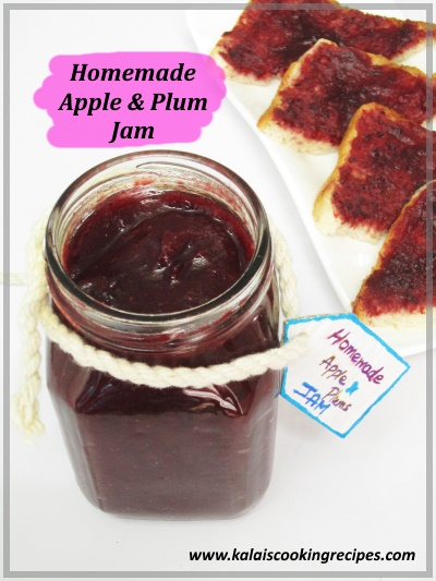 Apple Plum Jam