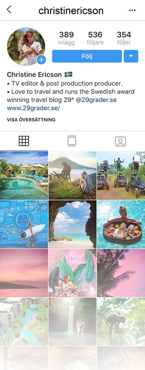 Instagram - tar över under Vietnam