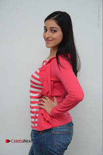 Telugu Actress Mouryani Latest Pos in Blue Denim Jeans  0053.JPG